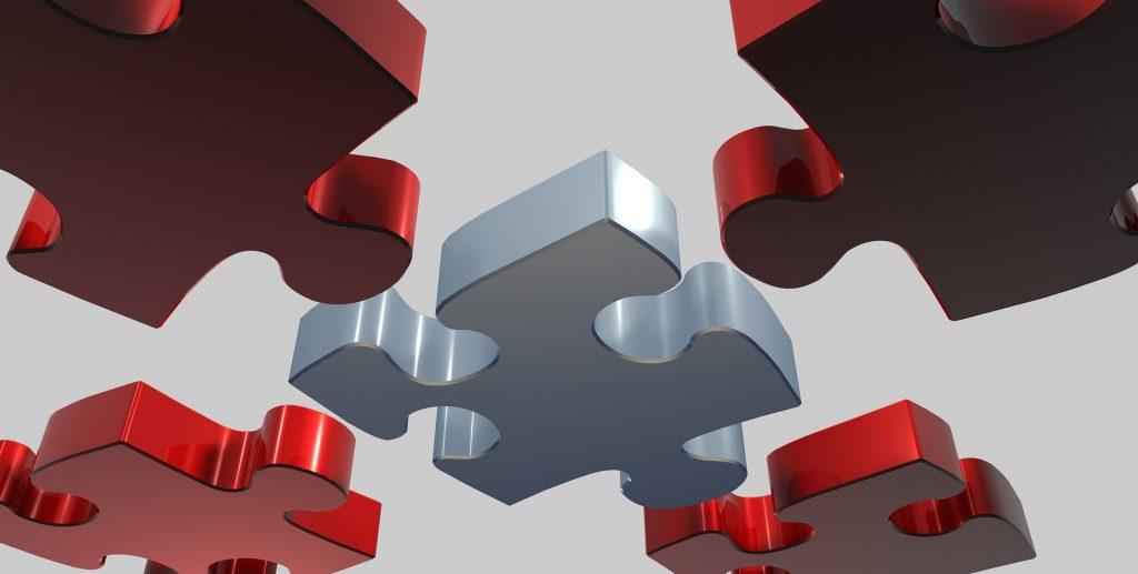 Edukacyjne puzzle z drewna