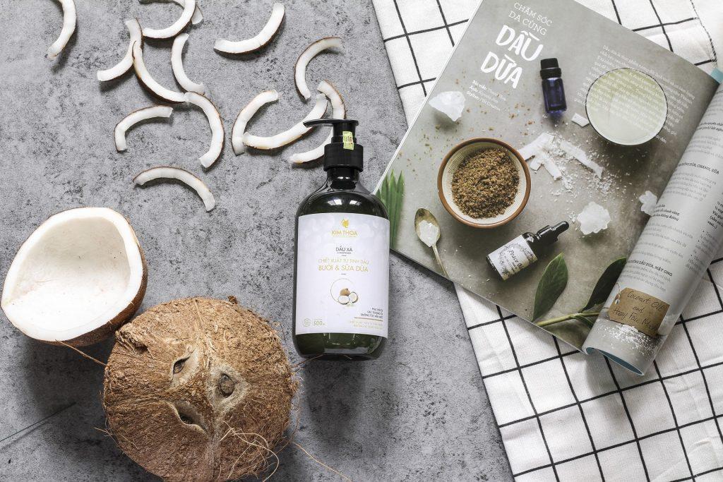 Olej kokosowy nierafinowany w kosmetyce